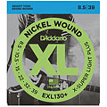 Saiten E-Gitarre D'Addario EXL130+ Nickel Wound .0085-039