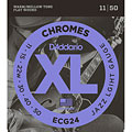 Χορδές ηλεκτρικής κιθάρας D'Addario ECG24 Chromes .011-050