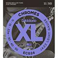 Cuerdas guitarra eléctr. D'Addario ECG24 Chromes .011-050
