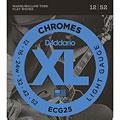 Cuerdas guitarra eléctr. D'Addario ECG25 Chromes .012-052