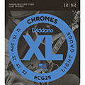 Elgitarrsträngar D'Addario ECG25 Chromes .012-052