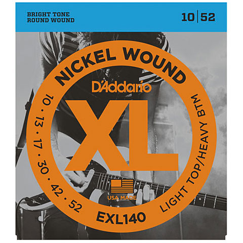 D'Addario EXL140 Nickel Wound .010-052
