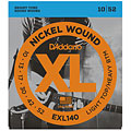 Electric Guitar Strings D'Addario EXL140 Nickel Wound .010-052
