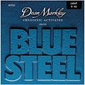 Set di corde per chitarra elettrica Dean Markley Blue Steel 009-042 lite