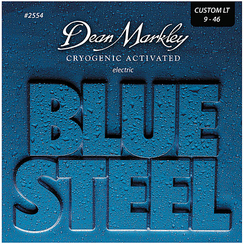 Cuerdas guitarra eléctr. Dean Markley Blue Steel 009-046 custom