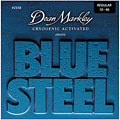 Corde guitare électrique Dean Markley Blue Steel 010-046 regular