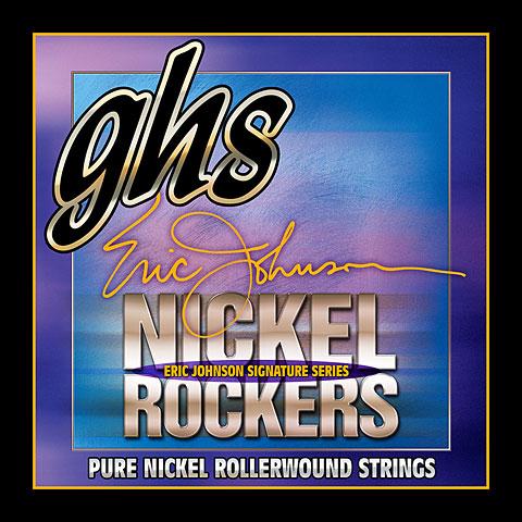 Cuerdas guitarra eléctr. GHS Nickel Rockers 011-052 R+EJM Eric Johnson