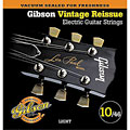 Cuerdas guitarra eléctr. Gibson GVR 10, 010-046, Vintage