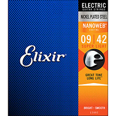 Elixir Nanoweb Super Light .009-042 « Saiten E-Gitarre