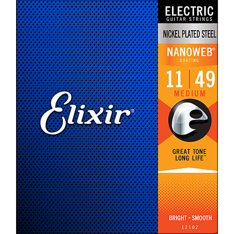 Elixir Nanoweb Medium .011-049