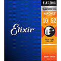 Струны для электрогитары  Elixir Nanoweb Light-Heavy .010-052