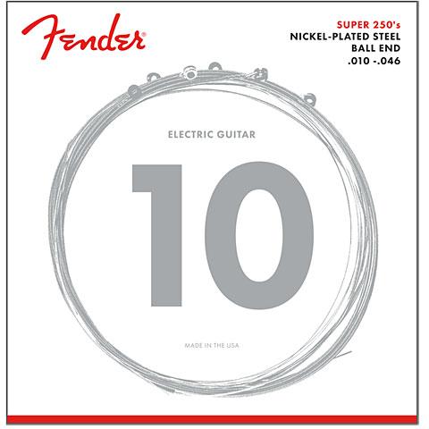 Cuerdas guitarra eléctr. Fender Super 250R, 010-046
