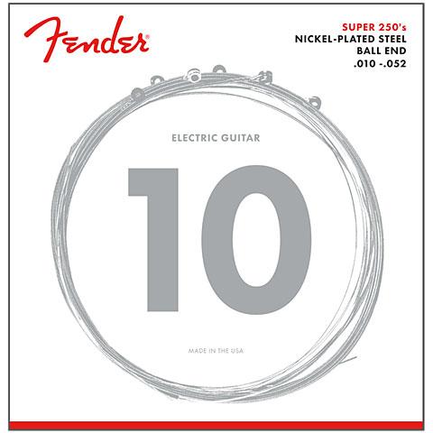 Saiten E-Gitarre Fender Super 250RH, 010-052