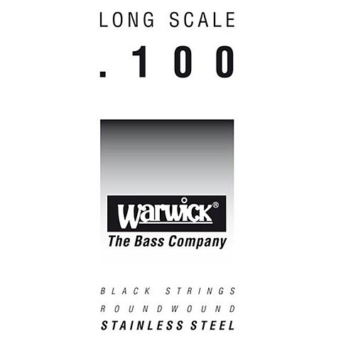 Cuerdas bajo eléctrico Warwick BlackLabel single 100