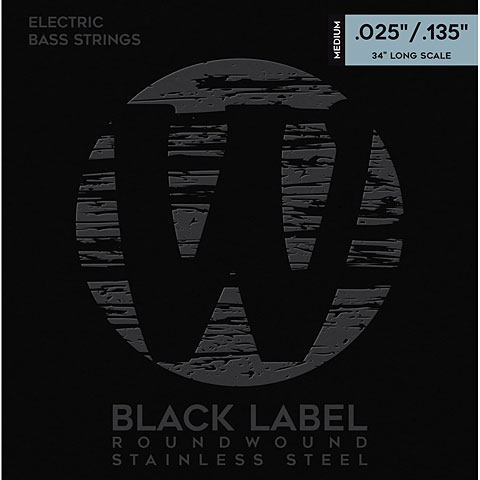 Saiten E-Bass Warwick BlackLabel 025-135, 6-string