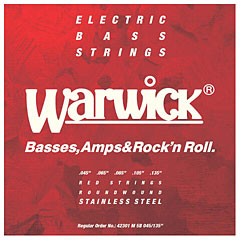 Warwick RedLabel 045-135, 5-string « Electric Bass Strings