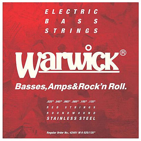 Saiten E-Bass Warwick RedLabel 025-135, 6-string