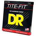 Cuerdas guitarra eléctr. DR TiteFit LT9, 009-042