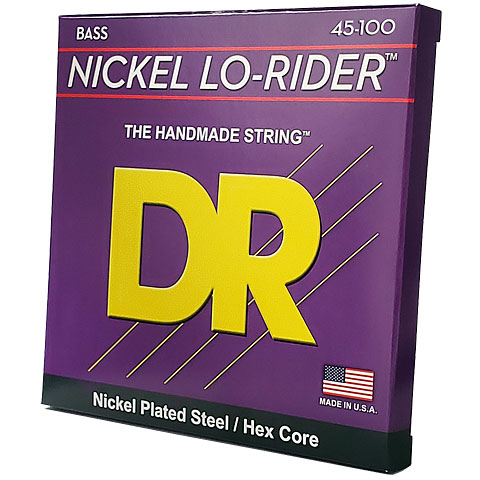 Electric Bass Strings DR Lo Rider NMLH45, 045-100