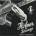 Struny do elektrycznej gitary basowej Höfner Flatwound für Beatles Bass