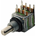 Poti MEC M85252, 25k Tandem, Mitte, Instrumenten-Parts, Gitarre/Bass