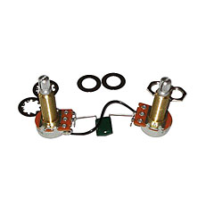 EMG 25kOhm, lange Achse « Potentiometers