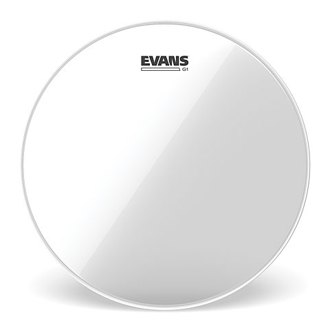 "Evans Genera G1 Clear 12"" Tom Head"