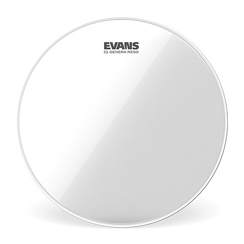 "Peau de tom Evans Genera Resonant Clear 13"" Tom Head"