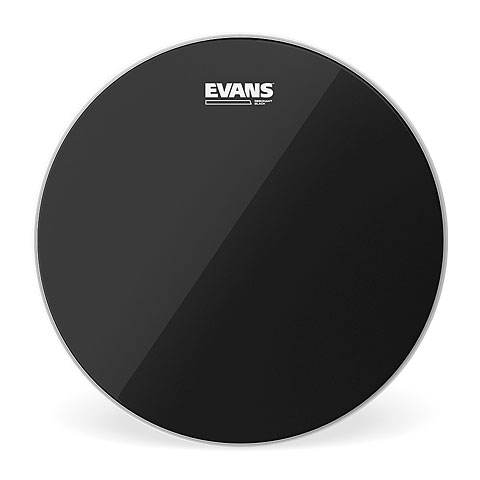 "Evans Resonant Black 14"" Tom Head"