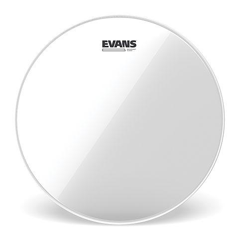 "Evans Resonant Clear 6"" Tom Head"