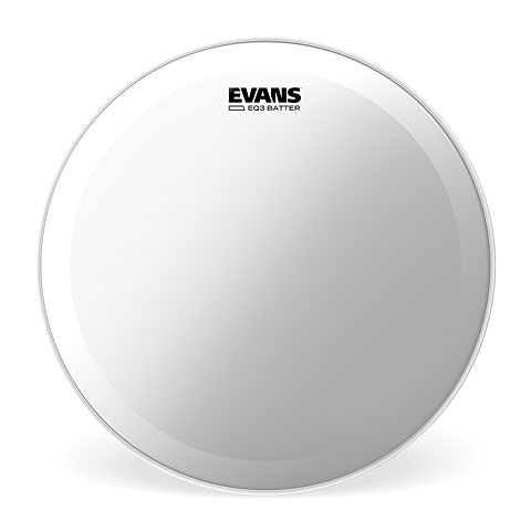 "Parches para bombos Evans EQ-3 Clear 22"" Bass Drum Head"