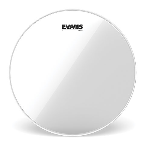 "Tom-Fell Evans Genera G2 Clear 16"" Tom Head"