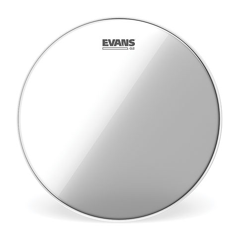 "Bass-Drum-Fell Evans Genera G2 Clear 22"" Bass Drum Head"