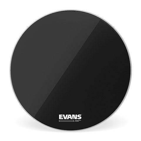 "Bass-Drum-Fell Evans Resonant Black 20"" Bass Drum Head"