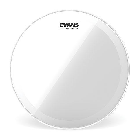 """Bass-Drum-Fell Evans EQ-4 Clear 20"""" Bass Drum Head"""