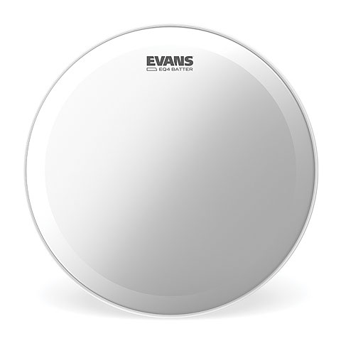 "Bass-Drum-Fell Evans EQ-4 20"" 1-Ply Coated Bass Drum Head"