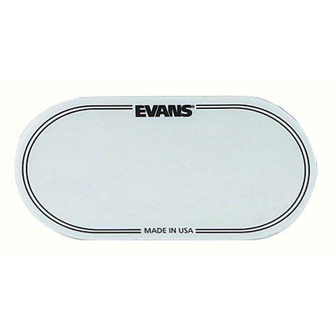 Accessori per pelli Evans EQ Patch Clear Double