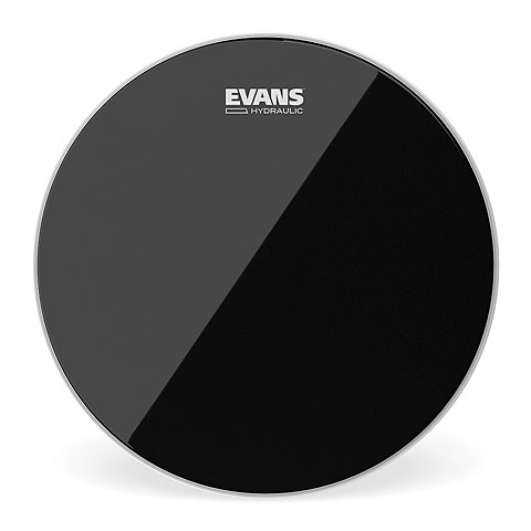 "Tom-Fell Evans Hydraulic Black 13"" Tom Head"