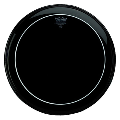 Peau de tom Remo Pinstripe Ebony ES-0606-PS