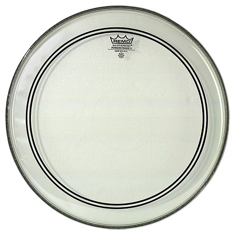"Snare-Drum-Fell Remo Powerstroke 3 Clear CS 14"" Snare Head"