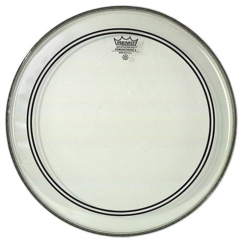 Bass-Drum-Fell Remo Powerstroke 3 Clear P3-1320-C2