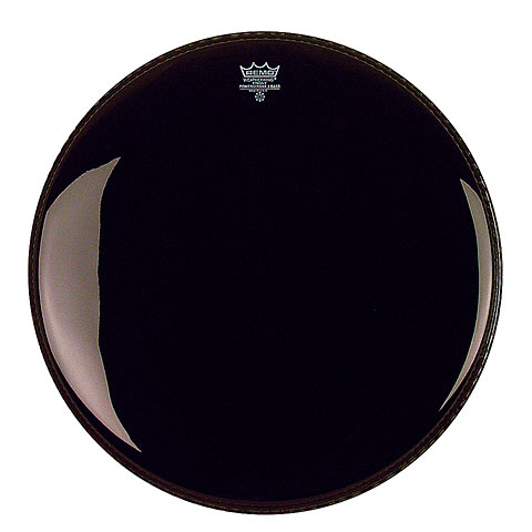 "Bass-Drum-Fell Remo Powerstroke 3 Ebony 22"" Bass Drum Head P3-1022-ES"