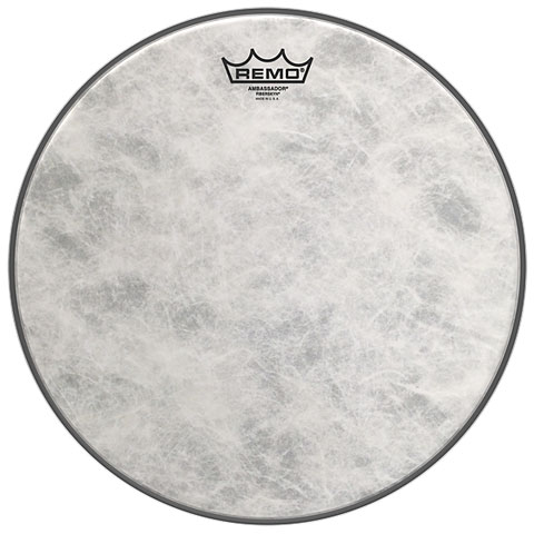 "Bass-Drum-Fell Remo Ambassador Fiberskyn 22"" Bass Drum Head"