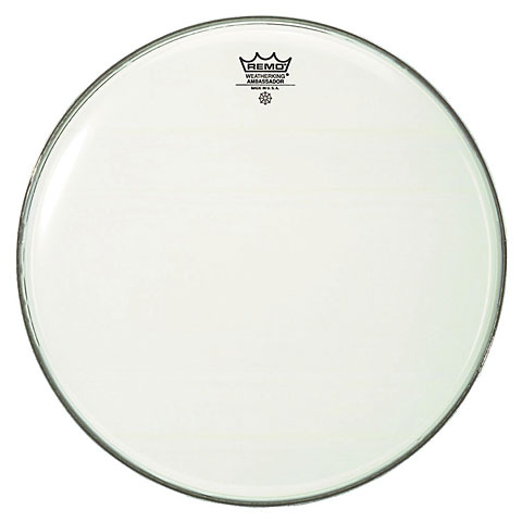 Bass-Drum-Fell Remo Ambassador Smooth White BR-1218-00