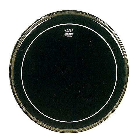 Peau de grosse caisse Remo Pinstripe Ebony ES-1628-PS