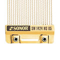 Timbre caisse claire Sonor SoundWire Brass SW1424 MS05