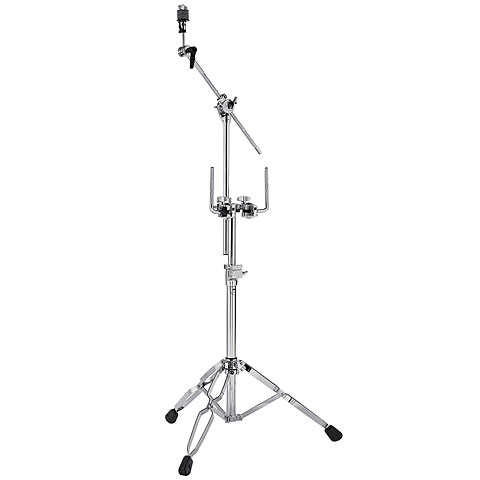 DW 9000 Series Double Tom Stand with 934 Cymbal Boom Arm