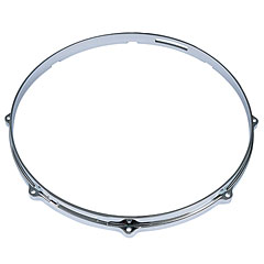 "Tama 14"" Die Cast Hoop 8 Holes Snare Side Chrome « Cercles"