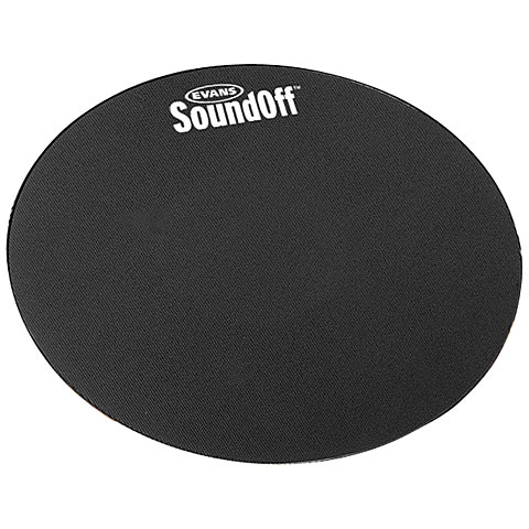 "Pad de práctica Evans Sound Off 12"" Tom Mute"