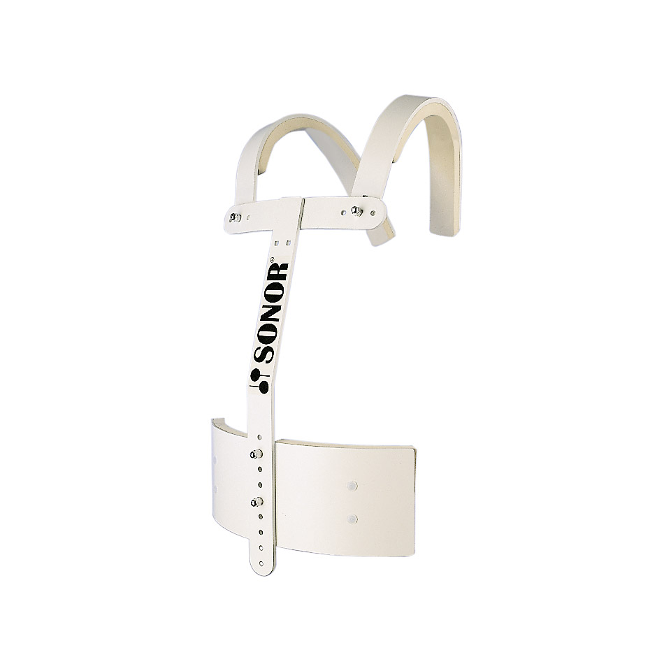 Marching - Sonor ZM6600 Marching Base Carrier White Carrier - Onlineshop Musik Produktiv